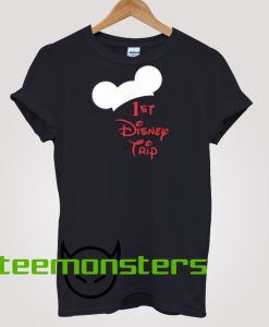 1st Disney Trip T-shirt