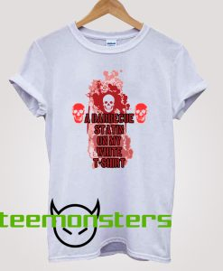 A barbecue Statin T-shirt