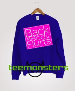 Back and body Sweatshirt