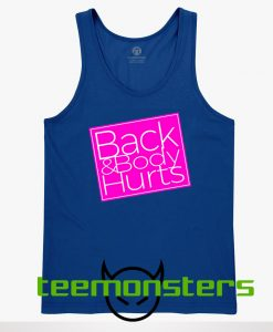 Back and body Tanktop