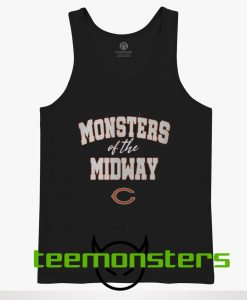 Chicago Bears Monsters Of The Midway Tank Top