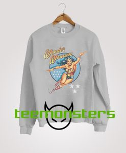 Wonder Woman Action Figur Sweatshirt