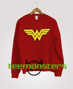 Wonder Woman Logo Sweatshirt