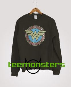 Wonder Woman Vintage Logo Sweatshirt