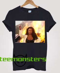 Angela Bassett Waiting To Exhale Leaving fire T-Shirt