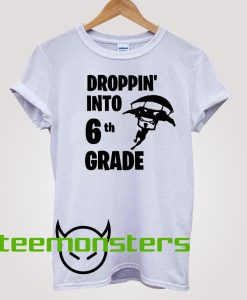 Fortnite Back to School 6th Grade T-Shirt