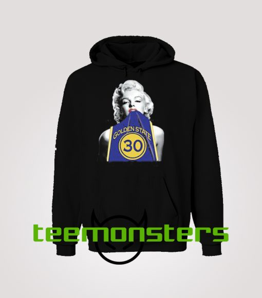 Marilyn Monroe Stephen curry Hoodie.jpeg