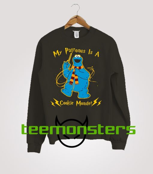 My Patronus Is A Cookie Monster Sweatshirt