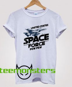 United States Space Force Pew Pew T-Shirt
