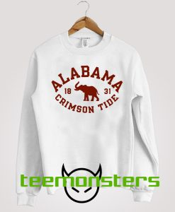 Alabama Vintage Crimson Tide Sweatshirt