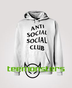 Anti Social Club ASSC Black Text Hoodie
