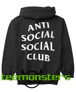 Anti Social Social Club ASSC Back Hoodie