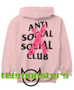 Anti Social Social Club Cancelled Back Hoodie