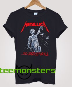 Metallica Justice For All T-shirt