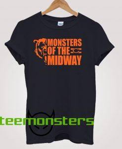 Monsters Of The Midway Chicago Bears T-shirt