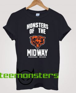 Monsters of Midway Chicago Bears T-shirt