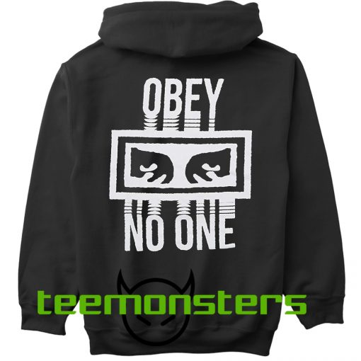 Obey No One Back Hoodie