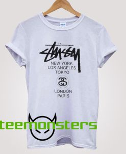 Stussy World Tour T-shirt