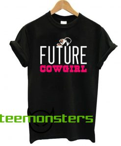 Future Cowgirl Woman T-shirt