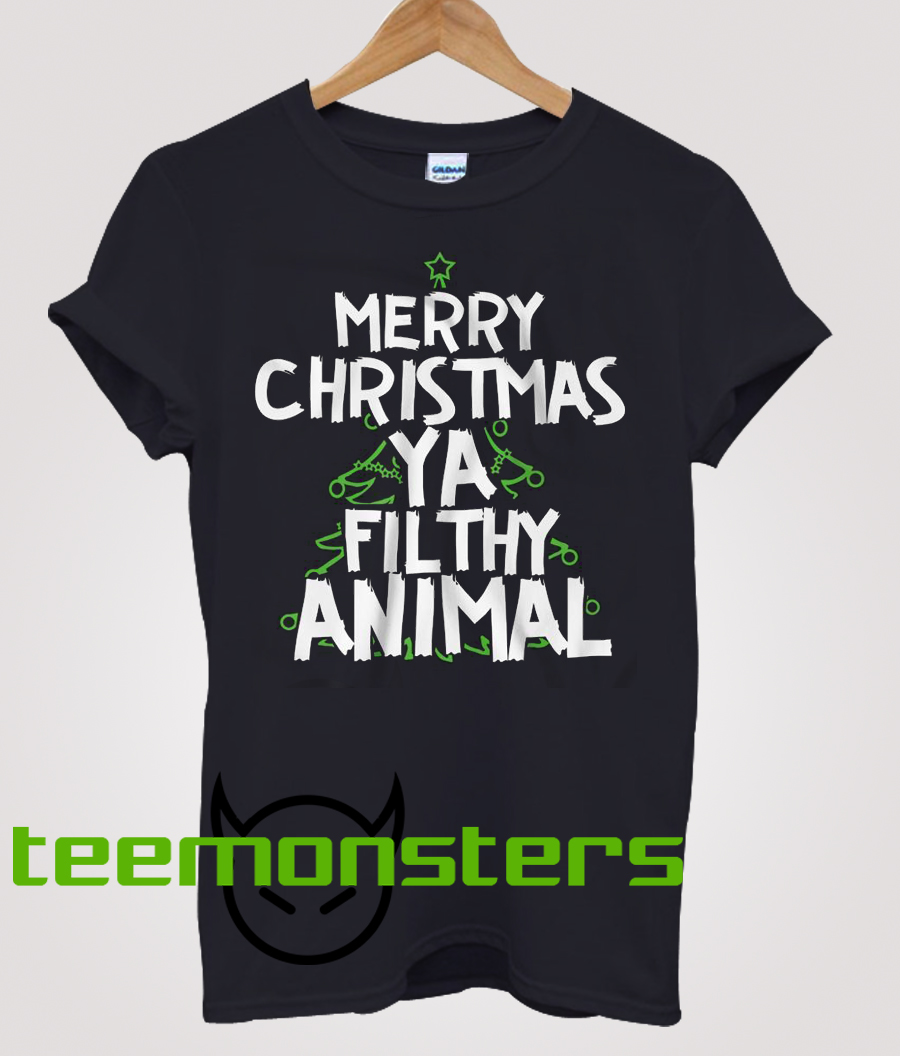 Merry Christmas Ya Filthy Animal Cool T Shirt