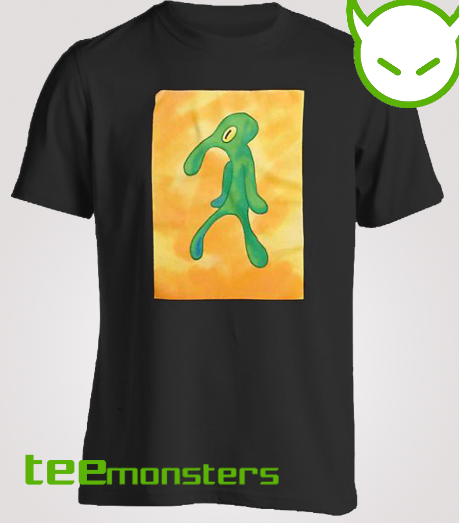 A Squidward masterpiece SpongeBob T-Shirt