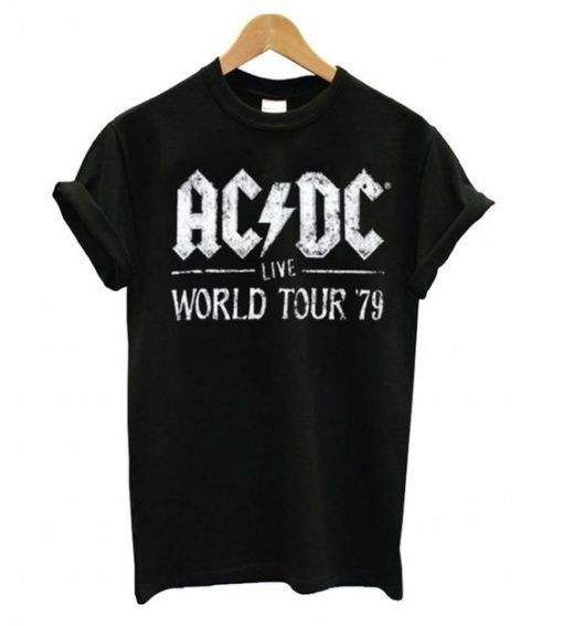 ACDC Live World Tour 79 T shirt DN