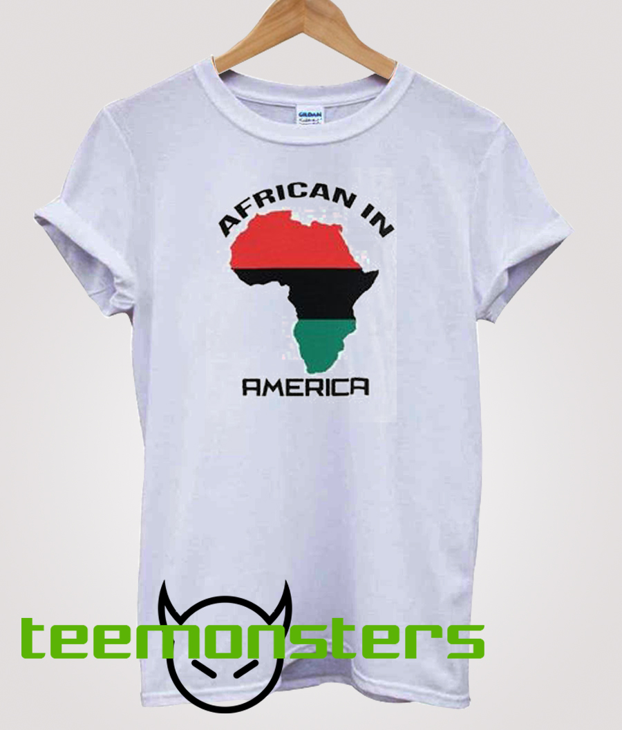 African In America T-shirt