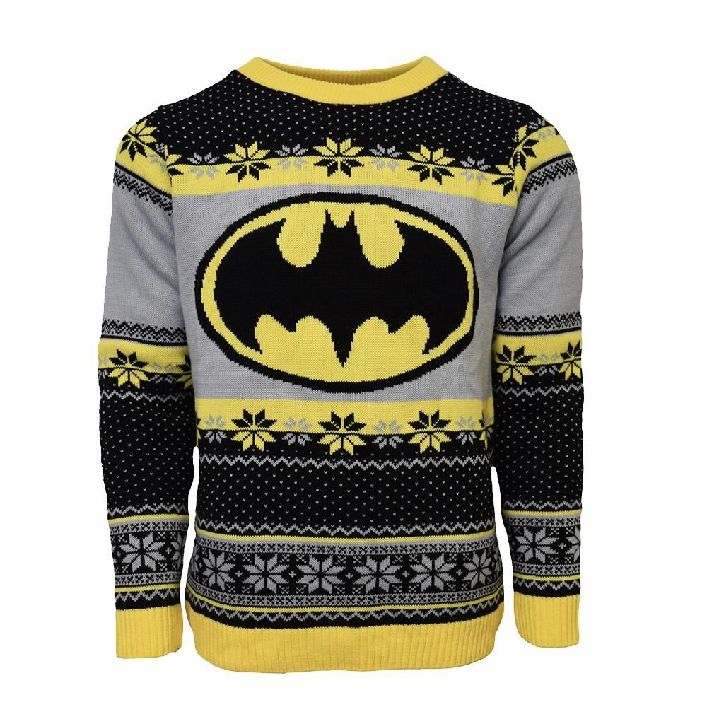 Batman is both physically and intellectually brilliant despite lacking the ability of any superpowers sweater