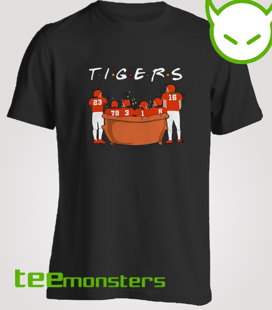 Clemson Tigers Friends TV Show T-shirt