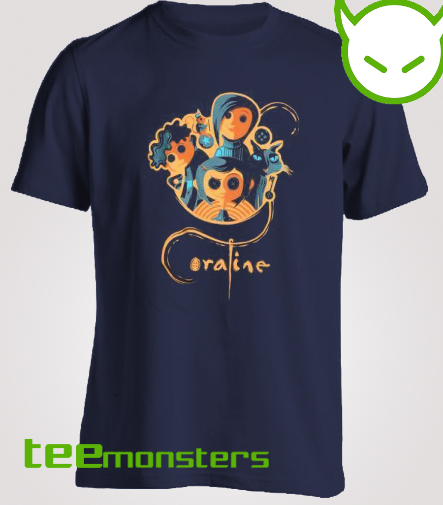 Coraline Group T-shirt