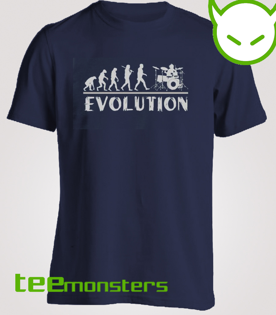 Drummer Evolution T-shirt