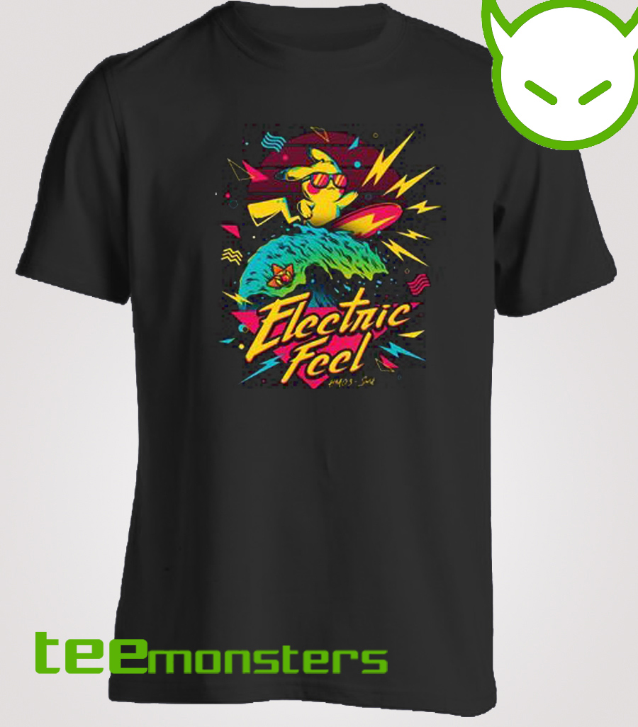 Electric Feel Pikachu T-shirt