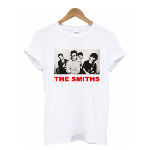 The Smiths t shirt AD