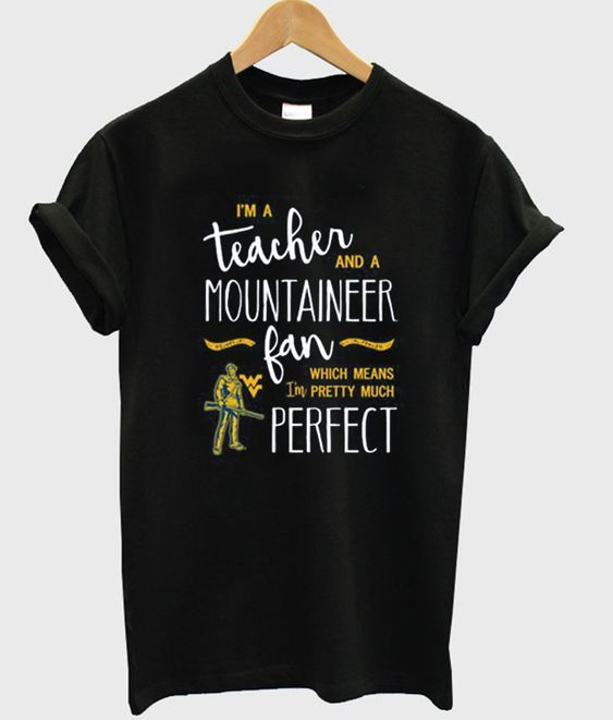 a teacher and mountaineer Tshirt DN
