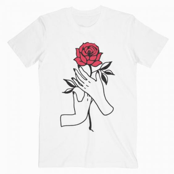 Aesthetic Rose T-Shirt RE23