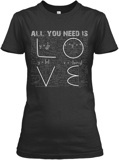 All You Need Is Love Valentine Women's T-Shirt IGS