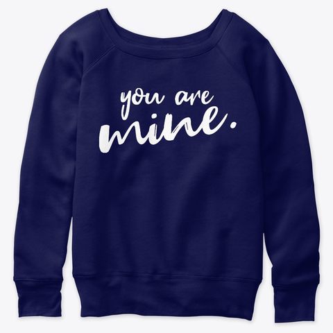 Boyfriend Girlfriend Love Be Mine Valentine Women's Sweatshirt IGS