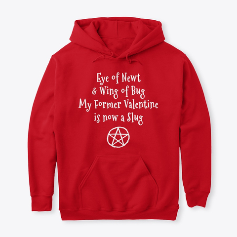 Eye of Newt Anti-Valentine Hoodie IGS