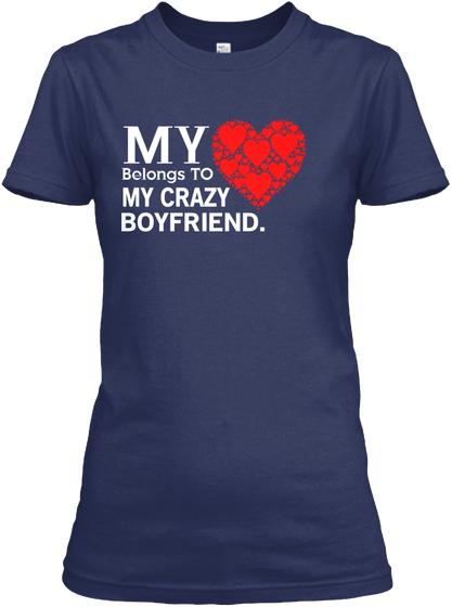VALENTINE DAY TEES BY GIRL FRIEND T-SHIRT IGS