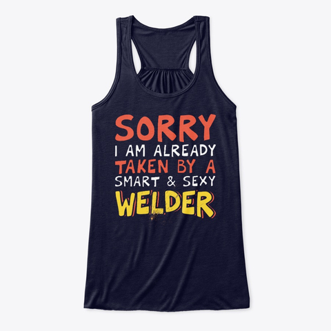 Valentine's Day Welder's Wife Gift Women's Tank Top IGS