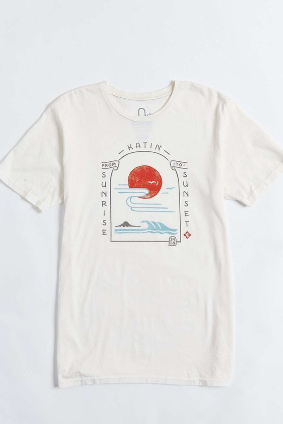 sunrise to sunset graphic T-Shirt RE23