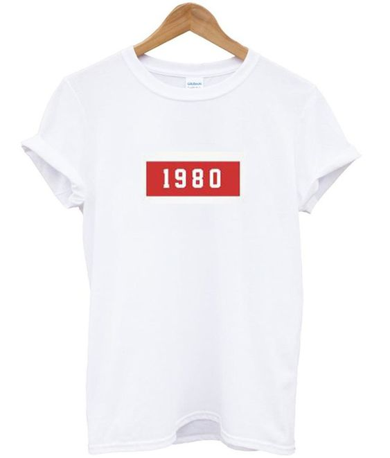 1980 Generation T shirt RE23