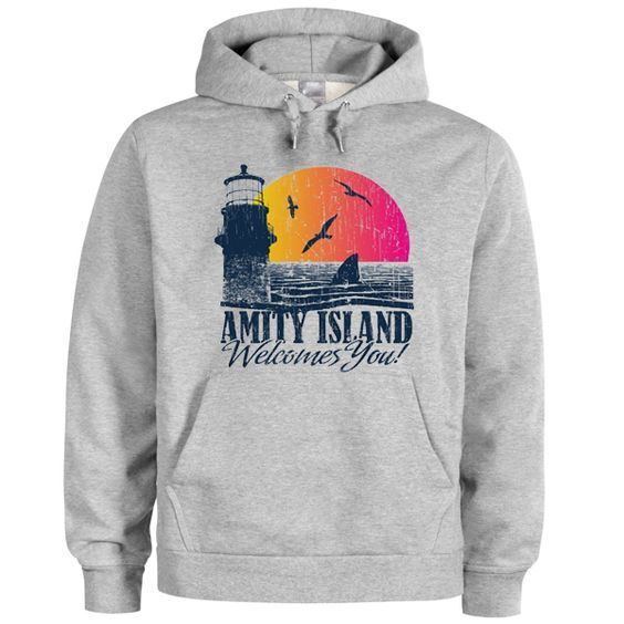 Amity island welcomes you hoodie RE23