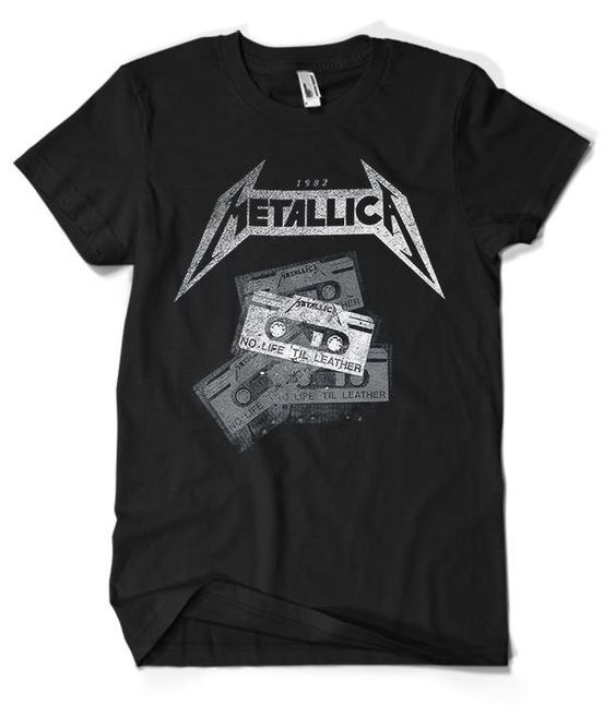 Metallica Printed T-Shirt RE23