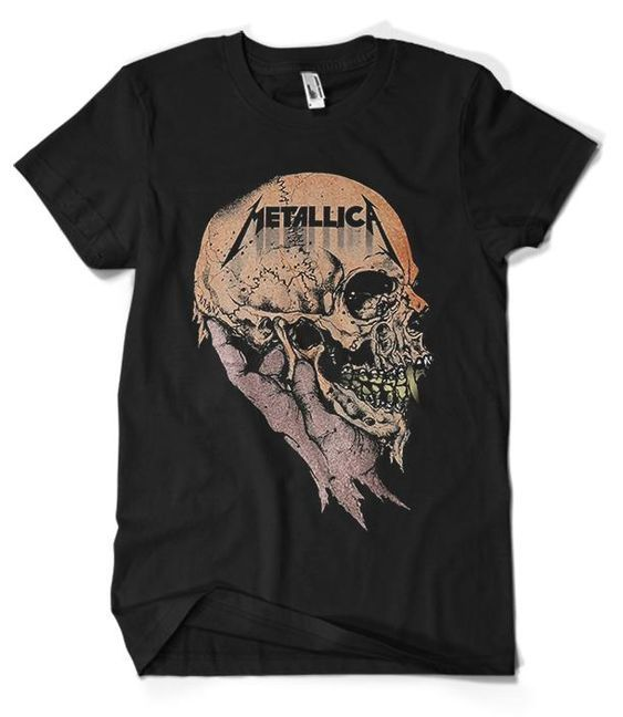 Metallica Skull T-Shirt RE23