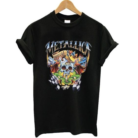 Metallica Skulleyes T-Shirt RE23