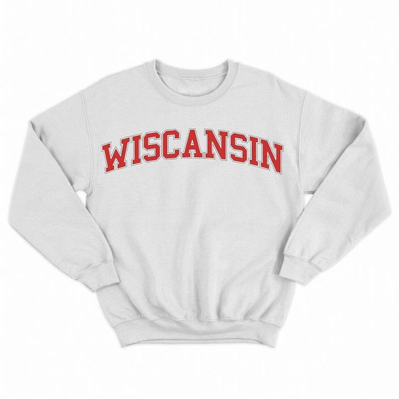 Wiscansin Crewneck Sweatshirt RE23