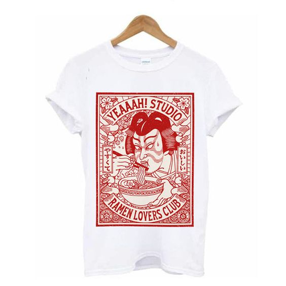 Yeaaah Studio Ramen Lovers Club T-shirt RE23