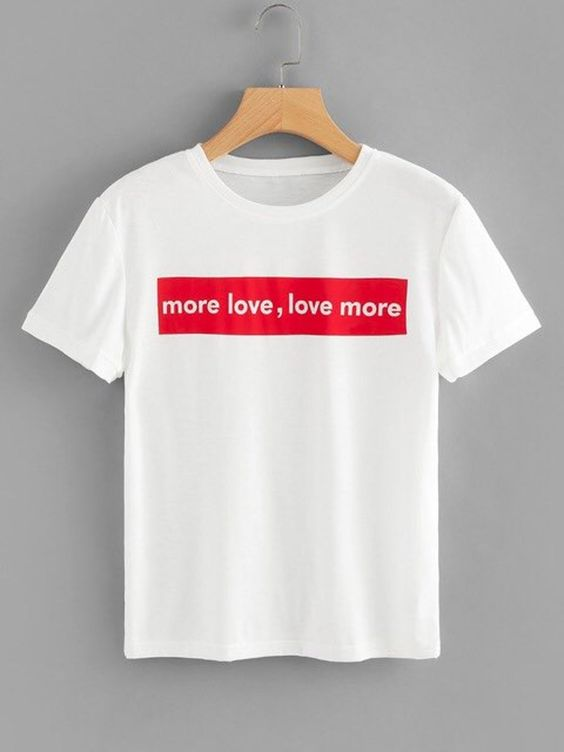 more love Urban Outfit T-shirt RE23