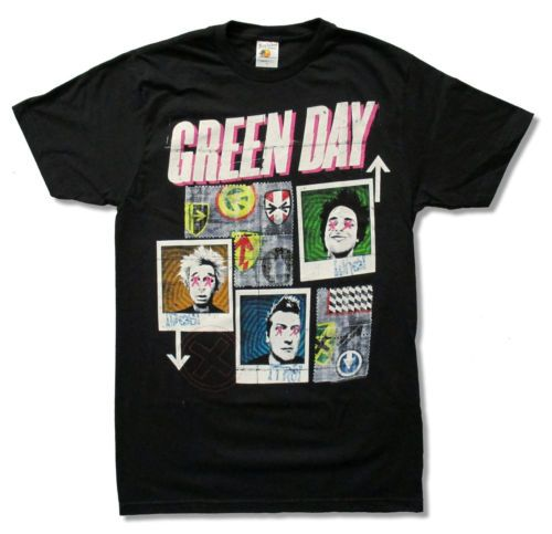 Green Day 99 Revolutions Tour T-shirt RE23